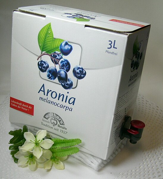 Aroniasaft 100 % 3 L Saftbox