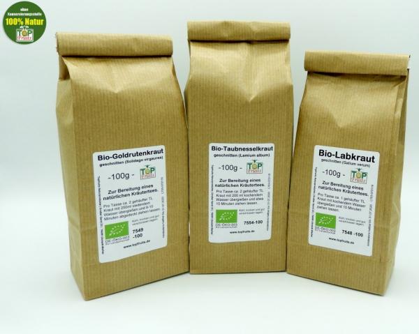 Nierentee + Schilddrüsentee nach Pfarrer Künzle / Maria Treben - 3 Tees à 100 g