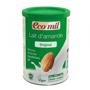 EcoMil Almendra- Mandelmilchpulver instant - 400g Dose -  Bio kbA, 100% Natur