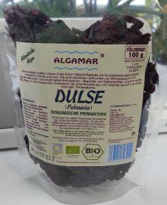 Dulse Algen  - 100g - , bio kbA und Rohkost  (Palmaria palmata - Algamar Spitzenqualität)