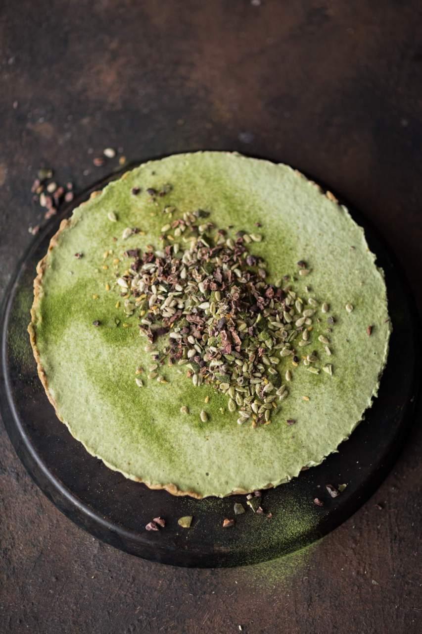 Roher Matcha Cheesecake