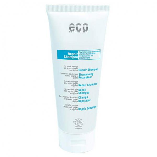 Eco Cosmetics - Bio Repair-Shampoo - 200 ml - mit Myrte, Gingko und Jojoba