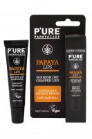Pure Papaya Lips - Papaya Lippenpflege, vegan, 10 ml