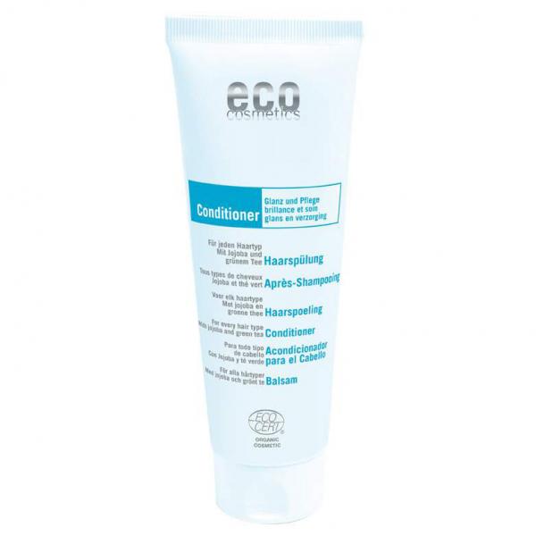 Eco Cosmetics - Bio Haarspülung - 125 ml - mit Jojoba und Grüntee