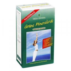 Grüne Mineralerde - 800 g - Nachfüllpack zum Vorteilspreis - mikrofein