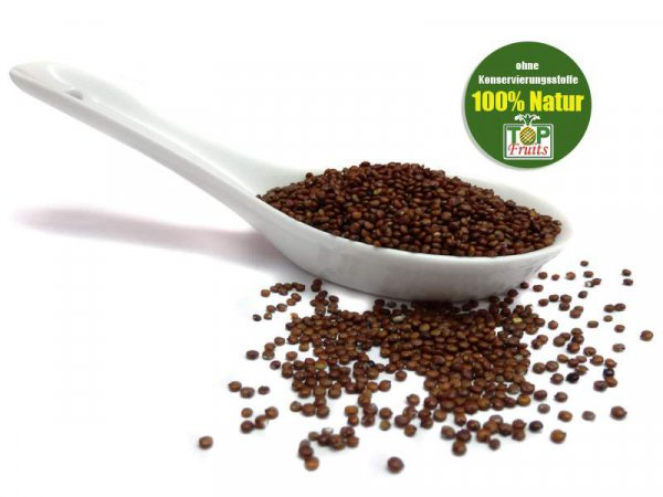 Quinoa rot, ganz, natur, bio kbA, glutenfreies Inkagetreide