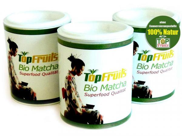Bio Matcha aus Japan, Superfood Qualität, 30 g Dose (Matcha Grünteepulver)