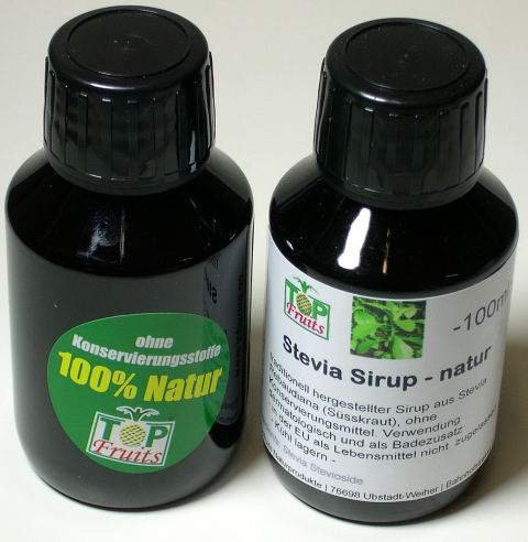 stevia sirup natur 100ml traditionell aus der ganzen. Black Bedroom Furniture Sets. Home Design Ideas