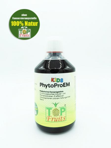 PhytoProEM Kids - 500ml - natürliches Kräuter-Ferment-Getränk, angenehm im Geschmack - Probierpreis