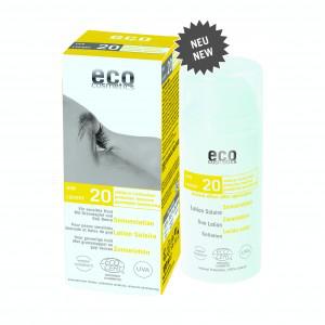 Eco Cosmetics - Sonnenlotion LSF 20 - 100 ml -  mit Granatapfel und Goji Beere