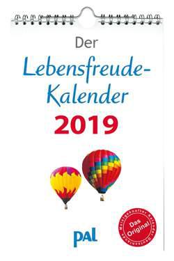 Lebensfreude Kalender 2019 PAL Verlag - Erbauung für das ganze Jahr - Topseller