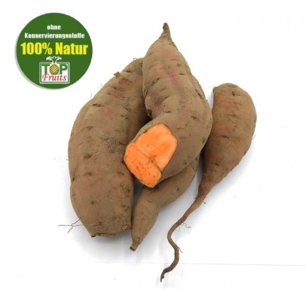 Süßkartoffel frisch, orange, aus Deutschland, unbehandelt