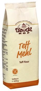 Teffmehl, hell, bio kbA (Teff, Eragrostis tef), 400 g von Bauckhof