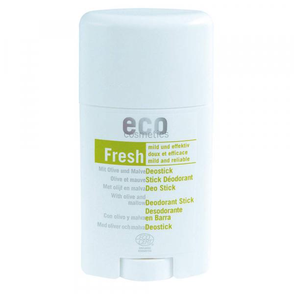 Eco Cosmetics - Bio Deo Stick - 50 ml - mit Olivenblatt und Malve