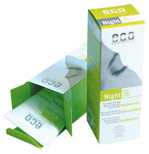 Eco Cosmetics - Bio Nachtcreme - 50 ml - mit Granatapfel und Ginseng