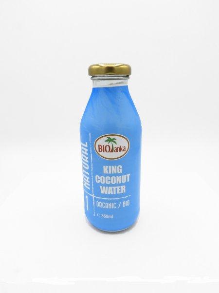 Bio Kokoswasser aus der gelben King Kokosnuss - 3er Pack zu je 350 ml