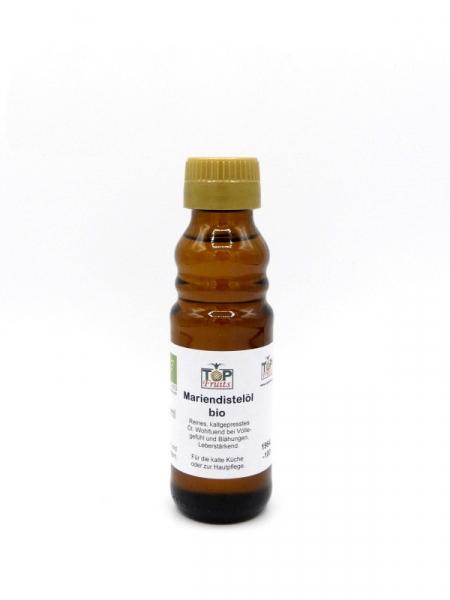 Mariendistelöl, bio, kaltgepresst - 100 ml