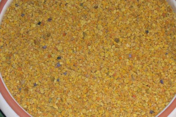 Blütenpollen (Bienenpollen) ganz - 100% rein - Spitzenqualität