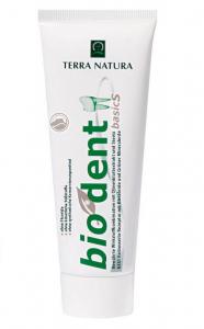 biodent basic S - 75 ml -  Zahnpasta mit Kiesel-/Mineralerde, Stevia, Olivenblattextrakt - basisch