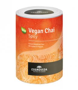 Vegan Chai Spicy, 200 g Dose, bio, Instant Chai Würztee