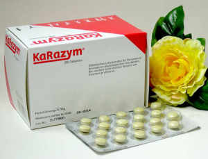 Enzymtabletten (KaRazym®) - 200 Stk. - proteolytische Gesamtaktivität 1.800 FIP proTab