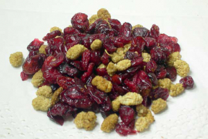 Cranberry-Maulbeeren Vitalbeeren-Mix der nährstoffreiche Knabberspass