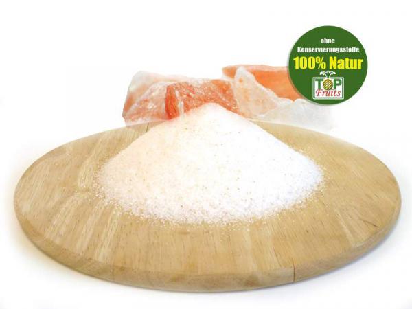 Kristallsalz aus Pakistan, rieselfähig gemahlen, 1kg Beutel