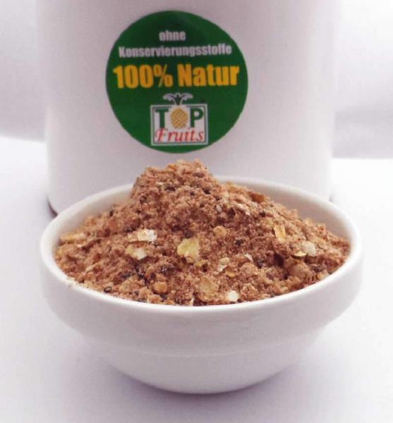 Morgengruß Plus, Frühstücks-Vitalbrei, glutenfrei, mit Chia und Traubenkernpulver