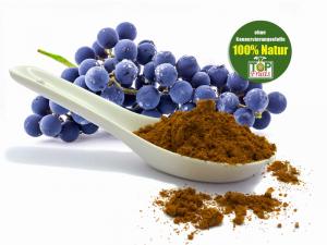 Coenzym Q10 + Grape vegan, 166 Portionen an 100mg (Q10 mit Traubenkernmehl und Xylit)