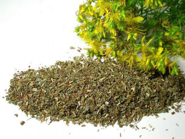 Johanniskraut (Hypericum perforatum) geschnitten, bio kbA - 100g - Teekraut