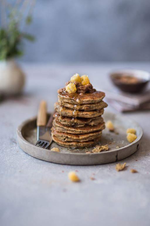 Mohn-Pancakes