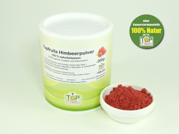Himbeerpulver, bio - 100 % Natur - ideal für Smoothies