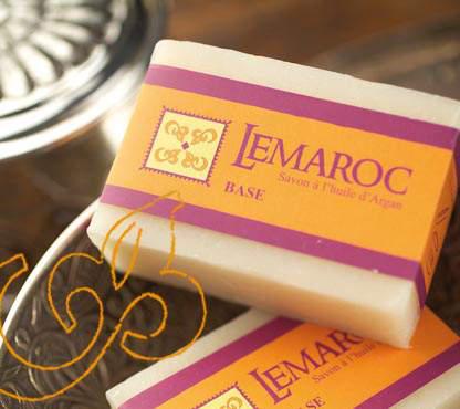 Arganöl-Seife - 100g - LeMaroc, kaltgerührt
