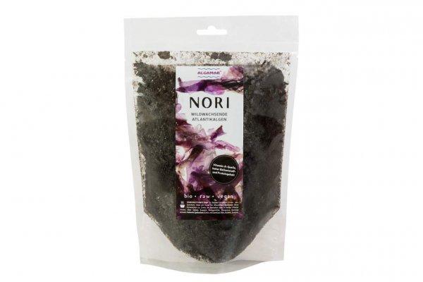 Noriflocken (Norialgen) - 100g - Bio und Rohkost, Algamar (Porphyra umbilicalis)