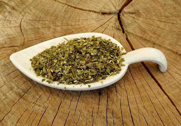 Mate Tee, Mateblätter, grün (Ilex paraguariensis), bio kbA, ungeröstet