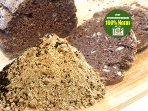 Backmischung - Vollkorn-Vitalbrot mit Traubenkernmehl, Chiasamen und Natursauerteig