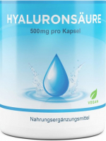 Hyaluronsäure 500 mg - 120 Kapseln, vegan
