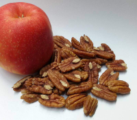 Pecannusskerne natur (Pekannüsse), Hälften, neue Ernte - in Topqualität