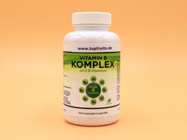 Topfruits Brainpower B-Vitamine + Folsäure, vegan, mit B12