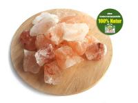 Kristallsalz aus Pakistan, Brocken, 1kg Beutel, natur ohne Beimengungen