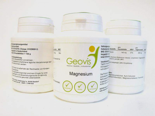 Magnesium, 90 Kauchips mit je 140 mg Magnesium