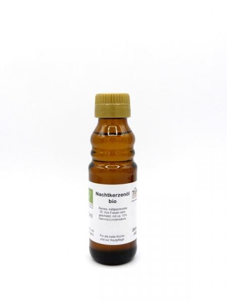 Nachtkerzenöl, kaltgepresst, bio - 100 ml