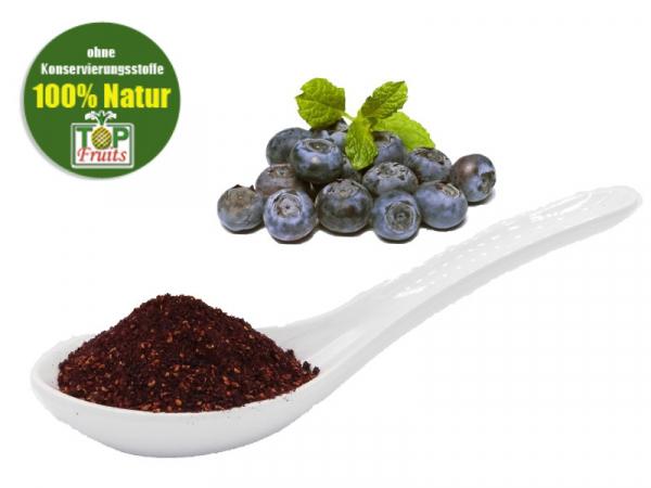Heidelbeerpulver, Wildheidelbeeren, bio kbA, gefriergetrocknet - ideal für Smoothies und Müsli