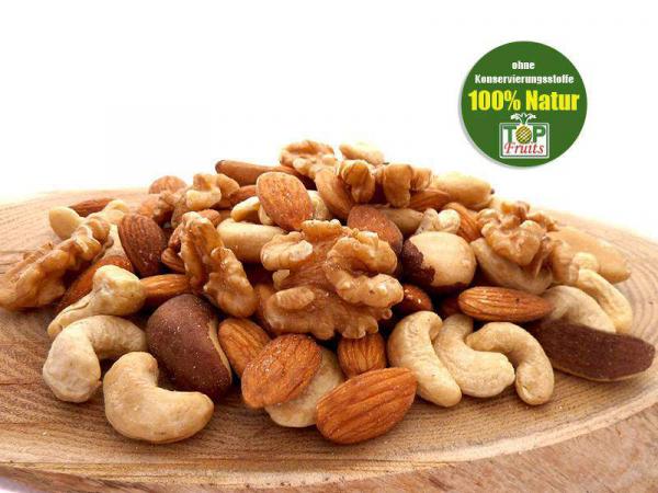 Nussmischung (Kernemischung) - Extra Qualität - Walnüsse, Cashewkerne, Paranüsse, Mandeln