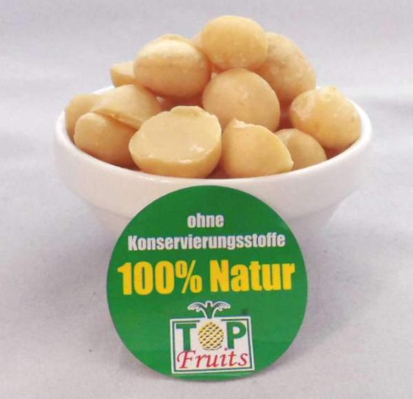 Bio Macadamia Nüsse ungeröstet ungesalzen ganze und halbe Kerne