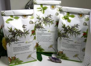 Storchschnabeltee - 100g - Vitaltee nach Rudolf Breuß (Geranium Robertianum)