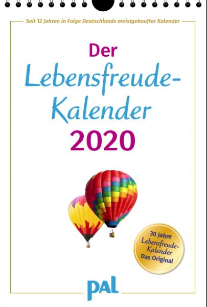 Lebensfreude Kalender 2020 PAL Verlag - Erbauung für das ganze Jahr - Topseller