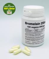 Bromelain 250mg, vegan, natürliches Ananasenzym