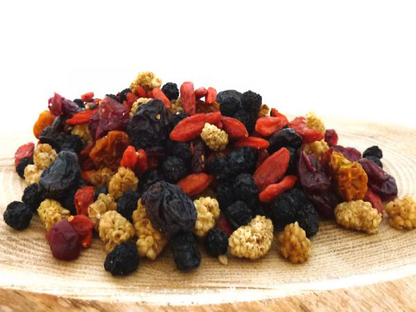 Beeren-Mix, natur, Vitalbeerenmischung ohne Farb- oder Konservierungsstoffe