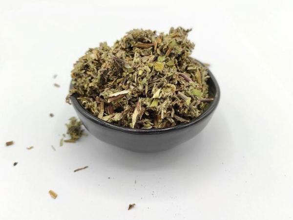 Beifußkraut (Artemisia vulgaris), geschnitten, 100% Natur
